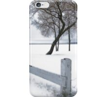 winter-lakeside iPhone Case/Skin
