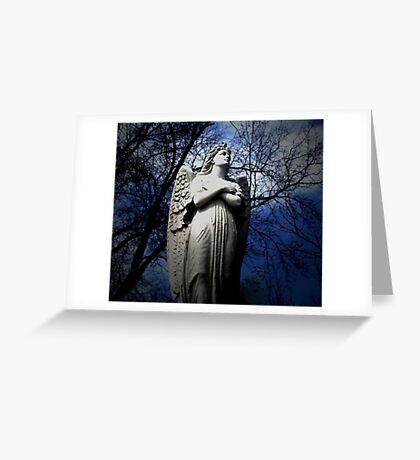 Poem by Sally Omar - Angel, Cross my Heart Greeting Card