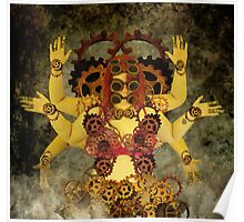 Divine circuitry  Poster