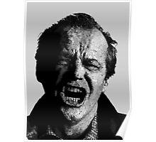 One Flew over Jack Nicholson's Nest - Digital Sketch  Poster
