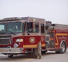 Buehring Fire Truck by Edwin Vaughn