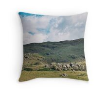 Mountain Scape Throw Pillow