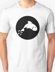Fish moon Unisex T-Shirt