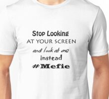 Iskybibblle Products/#mefie Unisex T-Shirt