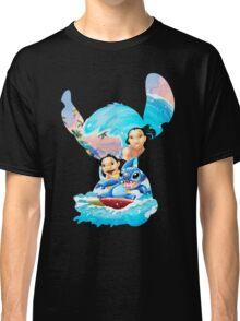 Stitch And His Ohana Classic T-Shirt
