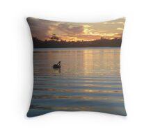Pelican Paradise Throw Pillow