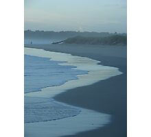 Soft Blue Sand Photographic Print