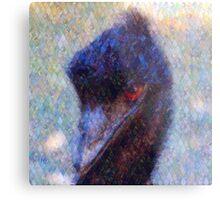 The Inquisitive Emu Metal Print