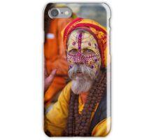 Kathmandu Holy Man iPhone Case/Skin