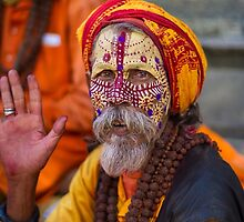 Kathmandu Holy Man by journeysincolor