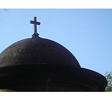 Religious Curve Photographic Print