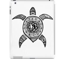 Hippie Sea Turtle iPad Case/Skin