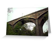 Dean Bridge Edinburgh Greeting Card