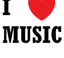 I Heart Music by carravase