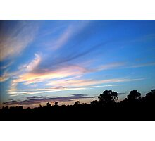 Beauty in the Sky. Photographic Print