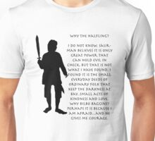 Why Bilbo? Unisex T-Shirt