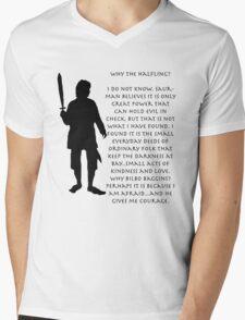 Why Bilbo? Mens V-Neck T-Shirt