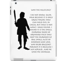 Why Bilbo? iPad Case/Skin