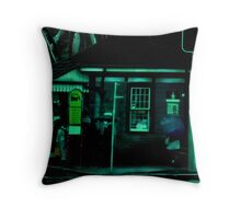 The Sydney Bus Stop Throw Pillow