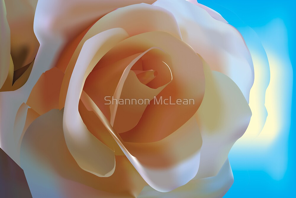 Simple Rose - Vector Illustration by shanmclean