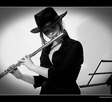 Flute and Fedora by carrollcreative