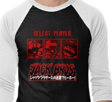 Please Select Your Jack Bros. Men's Baseball ¾ T-Shirt
