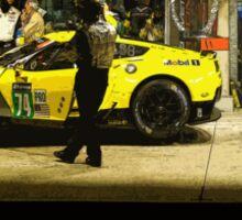 Corvette Racing C7R - American Flag Sticker