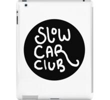 Slow Car Club logo graphic iPad Case/Skin