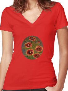 Pensies-2 Women's Fitted V-Neck T-Shirt