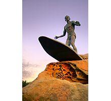 Duke Kahanamoku Monument - Freshwater Headland , Sydney Australia Photographic Print