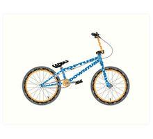 Anatomy of a BMX Bike Art Print