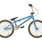 Anatomy of a BMX Bike by jarodface