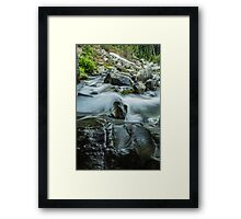 Rushing Waters of Paradise River #2 Framed Print
