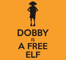 Dobby Is A Free Elf by tshirtdesign