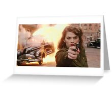 Agent Carter Marvel Greeting Card