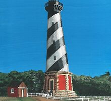 Cape Hatteras Lighthouse by Stephany Elsworth