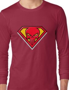 Super Punisher Logo Long Sleeve T-Shirt