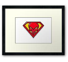 Super Punisher Logo Framed Print