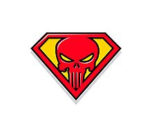 Super Punisher Logo Photographic Print