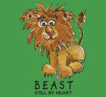 Beast Still My Heart Cartoon Lion Kids Clothes
