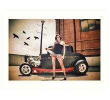 Miss Olive DuBois Art Print