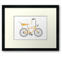 Anatomy of a Dragster Bike Framed Print