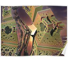 Alien Structures Found Poster