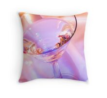 Colorful Martini Throw Pillow