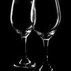Elegant Wine Glasses by Lisa Williams