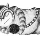 Sleeping Monster #2 by tiffanydow