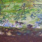 Shore and Undersbrush  by clarecahalan