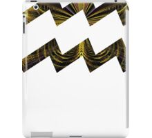 Heart Chakra of a Butterfly [White Outline] | Age of Aquarius iPad Case/Skin