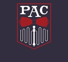 PAC Logo - Red and White Unisex T-Shirt