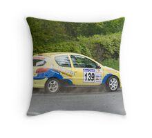 Des Campbell, Winner Jim Clarke Challenge Rally, 2008 Throw Pillow